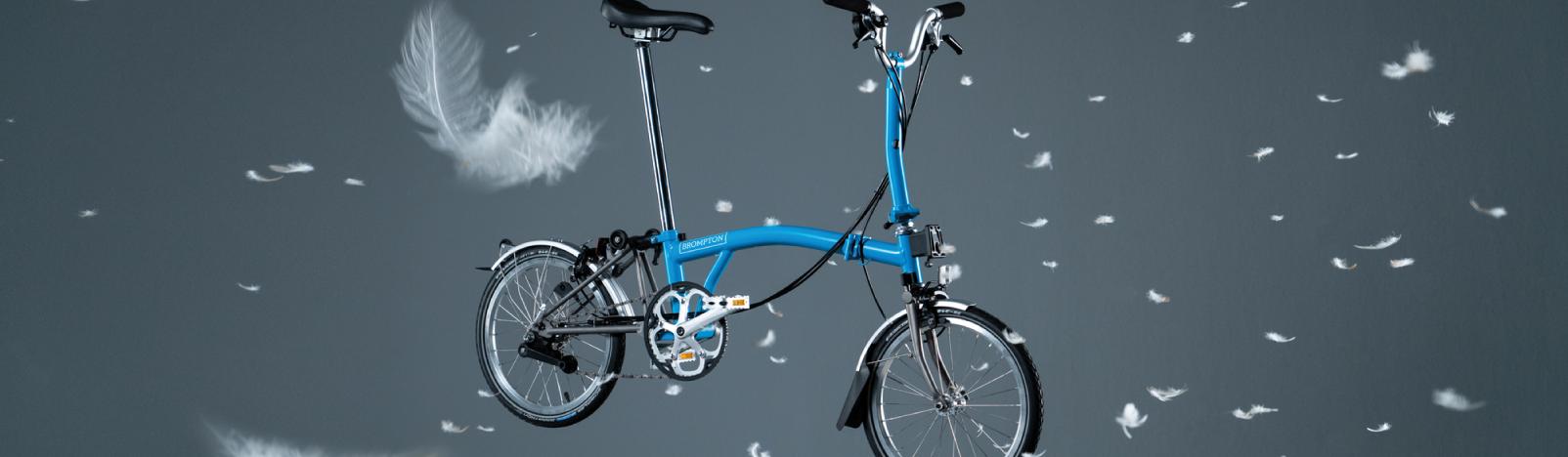 Brompton Superlight folding bike